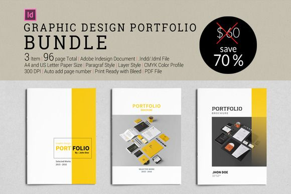 Bundle Graphic Design Portfolio By Tujuhbenua On Creativework247