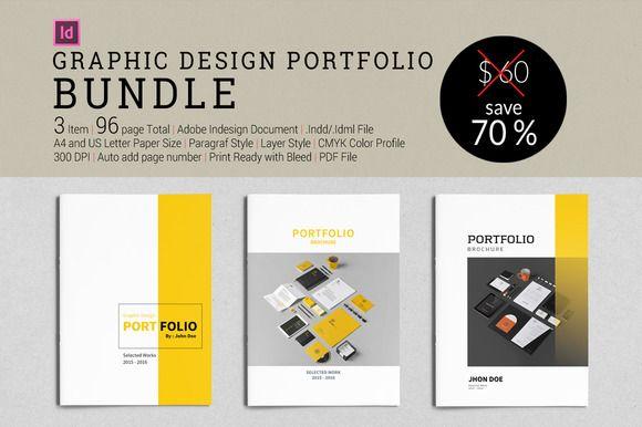 Bundle Graphic Design Portfolio By Tujuhbenua On Creativework247