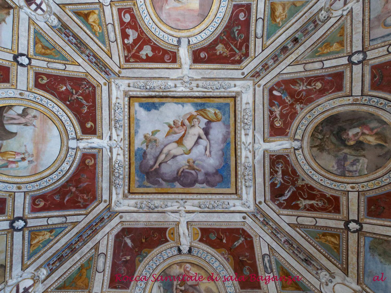 Rocca sanvitale di sala baganza il suo interno ricco di - Decorazioni pittoriche ...