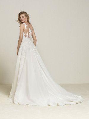 vestido de novia con sobrefalda extraible | abito | pinterest