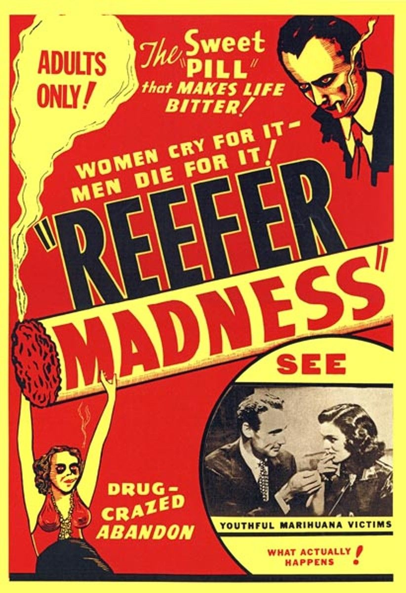 Image result for reefer madness propaganda ads