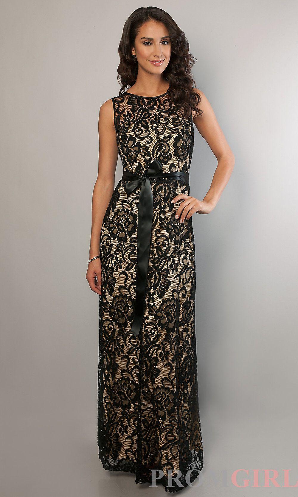 Sally fashions long sleeveless lace dress promgirl wedding