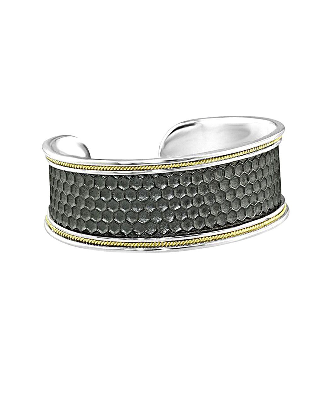 You need to see this Eli Jewels Honey 18K & Silver Bangle on Rue La La.  Get in and shop (quickly!): https://www.ruelala.com/boutique/product/102692/32088148?inv=nlinscombe&aid=6191