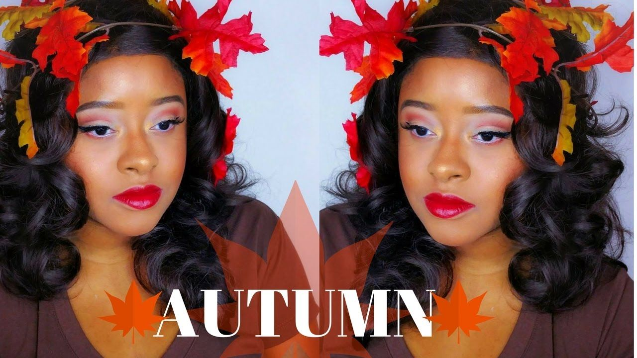 Halloween Makeup Tutorial 2016 Easy Autumn Makeup and