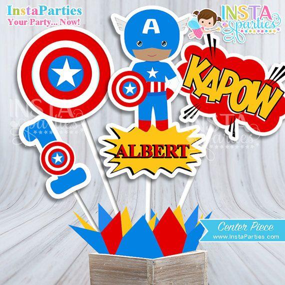 Centro De Mesa Flash Gordon Centro Mesa Superhéroes Niño