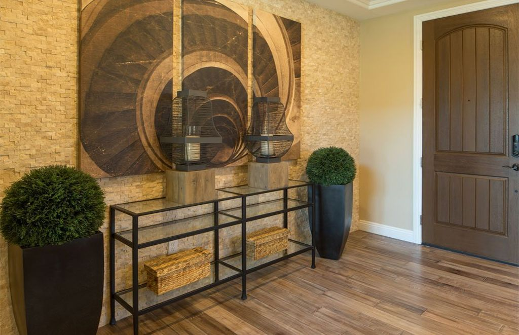 Beautiful entry! Pulte homes, Entryway decor, Warm springs