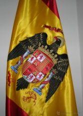 Bandera De España Bordada Escudo Modelo 1976 Aguila De San Juan Original De Epoca 100 Historia De España Bandera España España