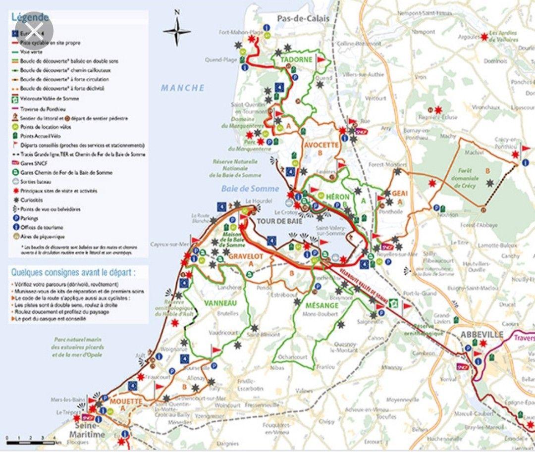 Epingle Par Jocelyne Detante Sur Regions Et Pays Preferes Baie De Somme Circuit Velo Baie De Somme Tourisme