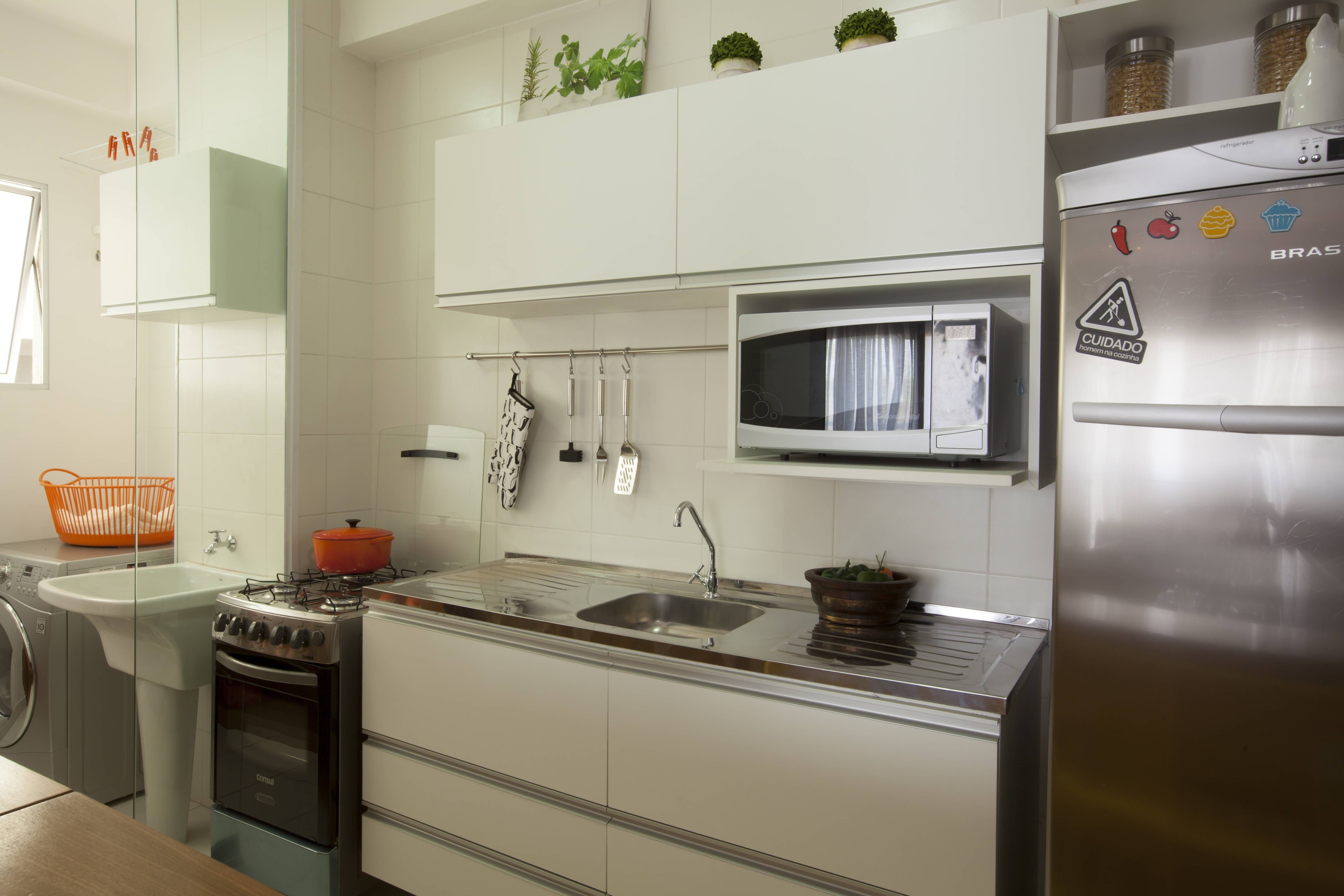 Apartamento de 65 m² com truques de aproveitamento de espaço | Minha Casa