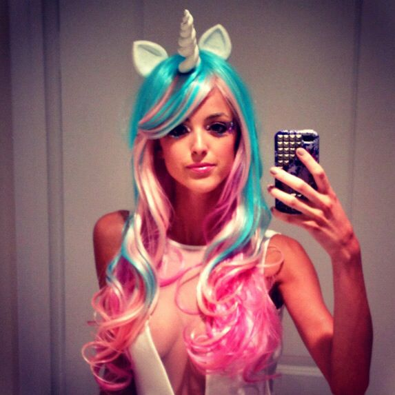 Kaitlynn -GF of Brody Jenner Halloween Costume | Unicorns ...