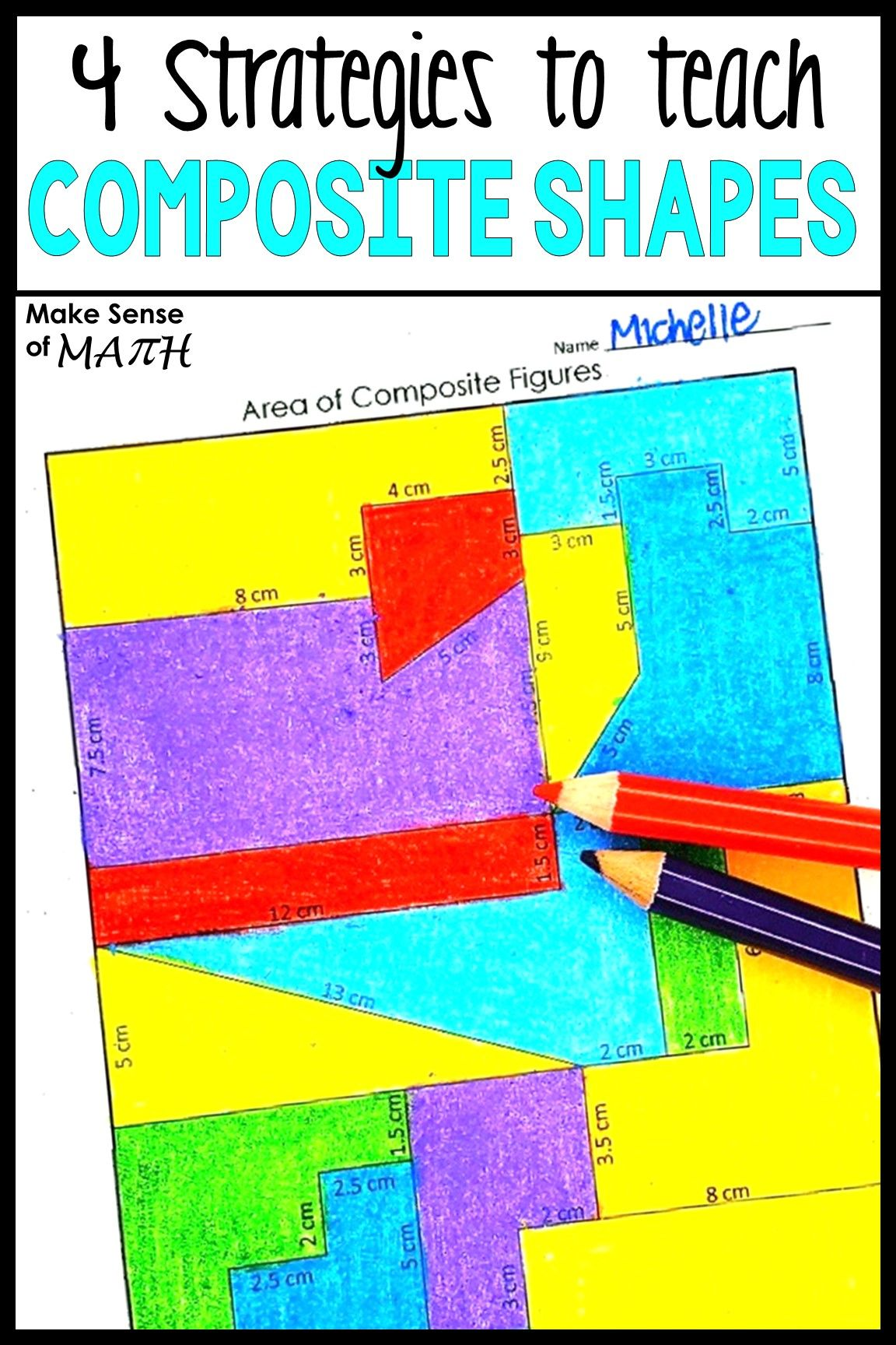 4 Strategies To Teach Composite Shape Area Great Ideas To