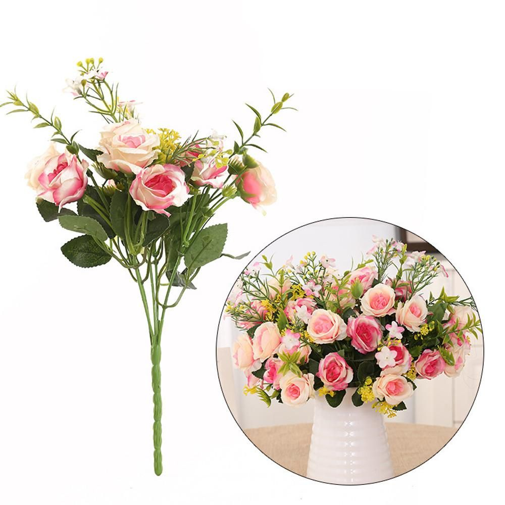 Artificial Flowers For Home Decoration Wedding Table Flowers Peony