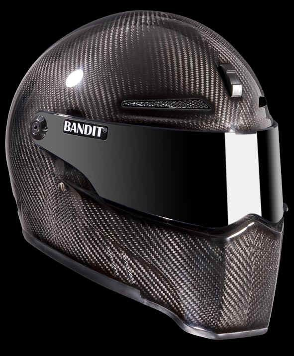 bandit alien 2 carbon streetfighter helmet ece for. Black Bedroom Furniture Sets. Home Design Ideas