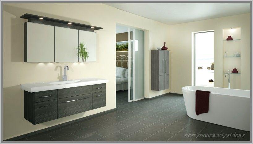 anthrazit bad mit mosaik badezimmer creme braun creativ