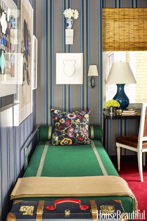 This Crazy Colorful Apartment Proves Blue And Black Do Go