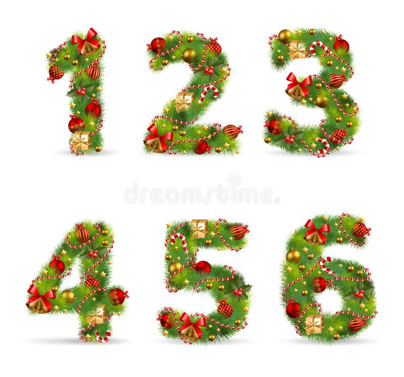 Abcdef Christmas Tree Font 123456 Christmas Tree Font With Green Fir And Baub Aff Tree Font Abcdef Christmas Vectors Christmas Christmas Alphabet