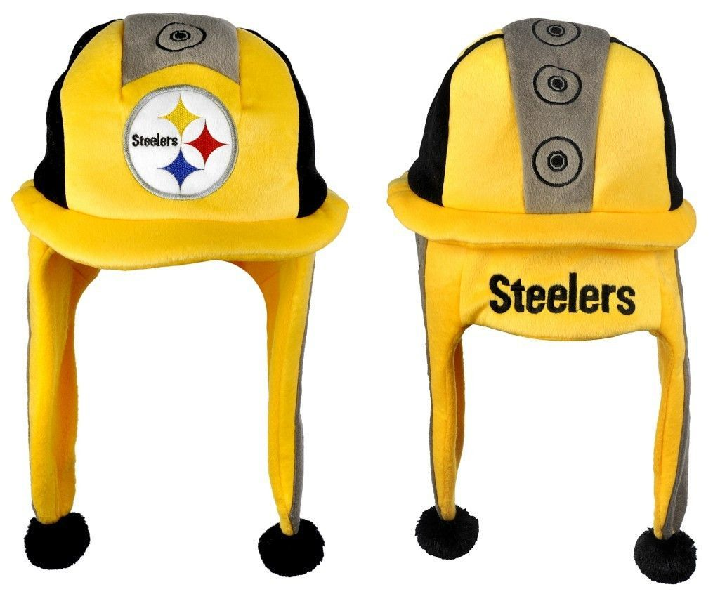 Pittsburgh Steelers Mascot Themed Dangle Hat  a5ad7c368c96