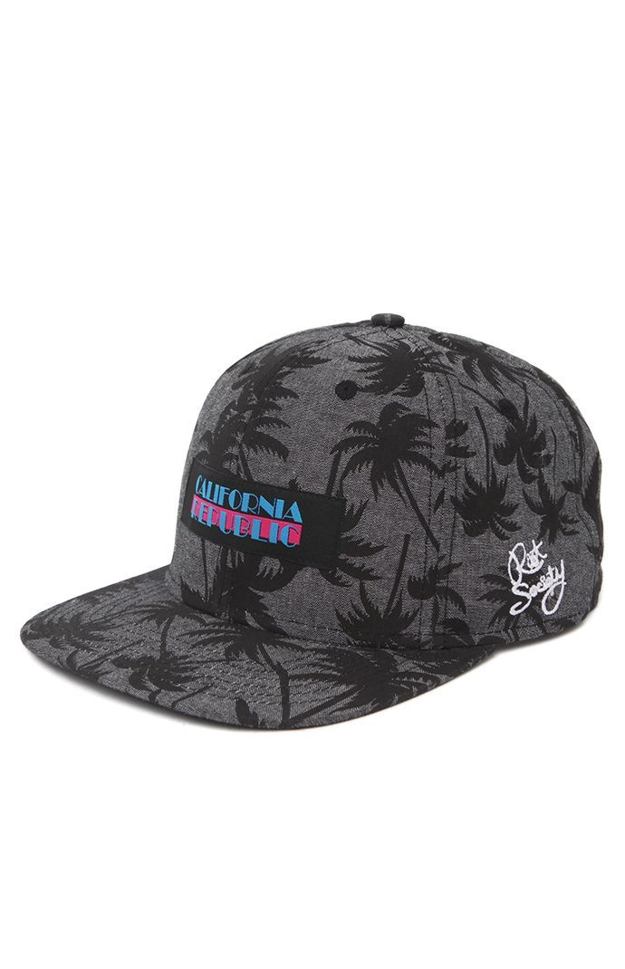 9384e2dff94 ... spain riot society comes with a cali snapback hat found at pacsun. the  cali republic