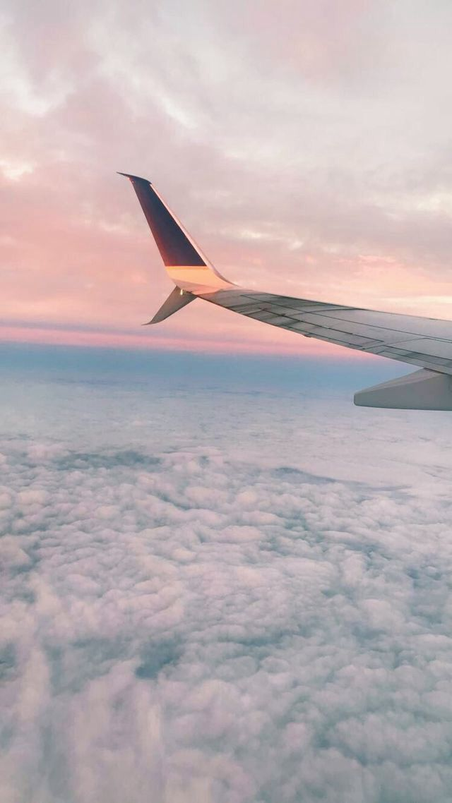 Travel Through The Clouds Sky Aesthetic Airplane Wallpaper Travel Aesthetic