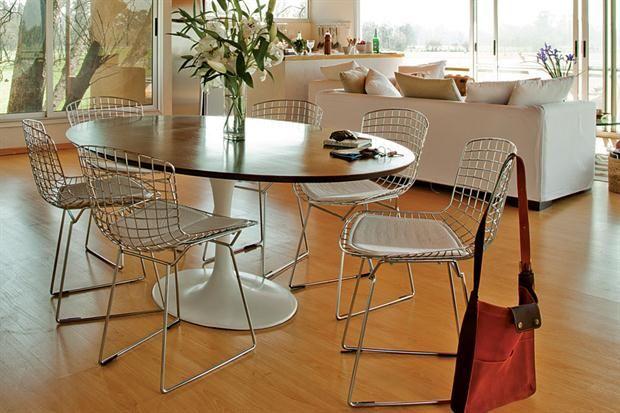 mesas redondas y ovaladas dos alternativas para el comedor