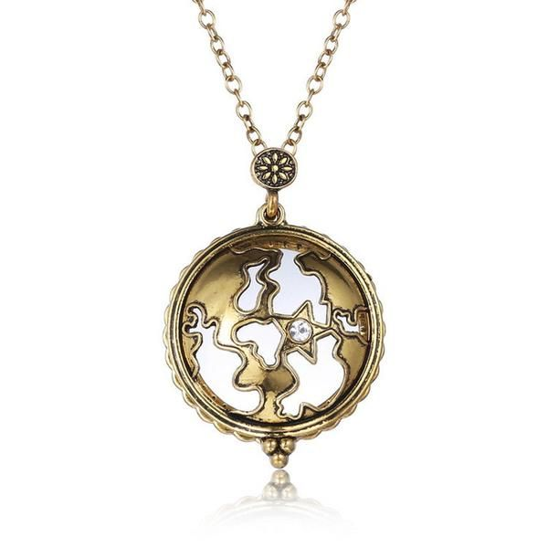 Vintage magnifying glass pendant necklace pokemon hollow creative magnifying glass pendants aloadofball Choice Image