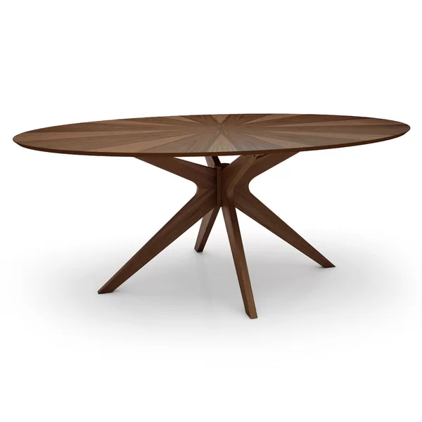 Omar Dining Table Oval Table Dining Wood Dining Table Dining Table In Kitchen