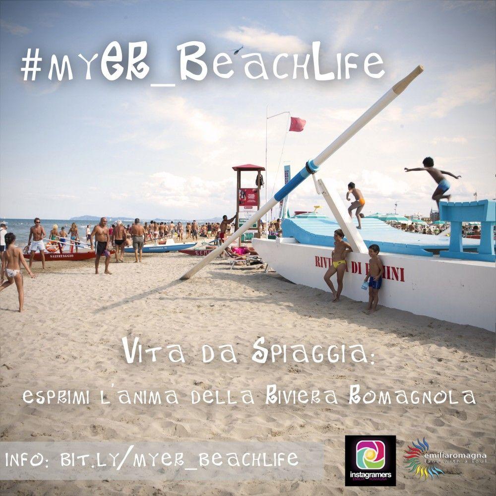 #MyER_BeachLife: il contest Instagram dedicato alla Vita da Spiaggia della Riviera Romagnola