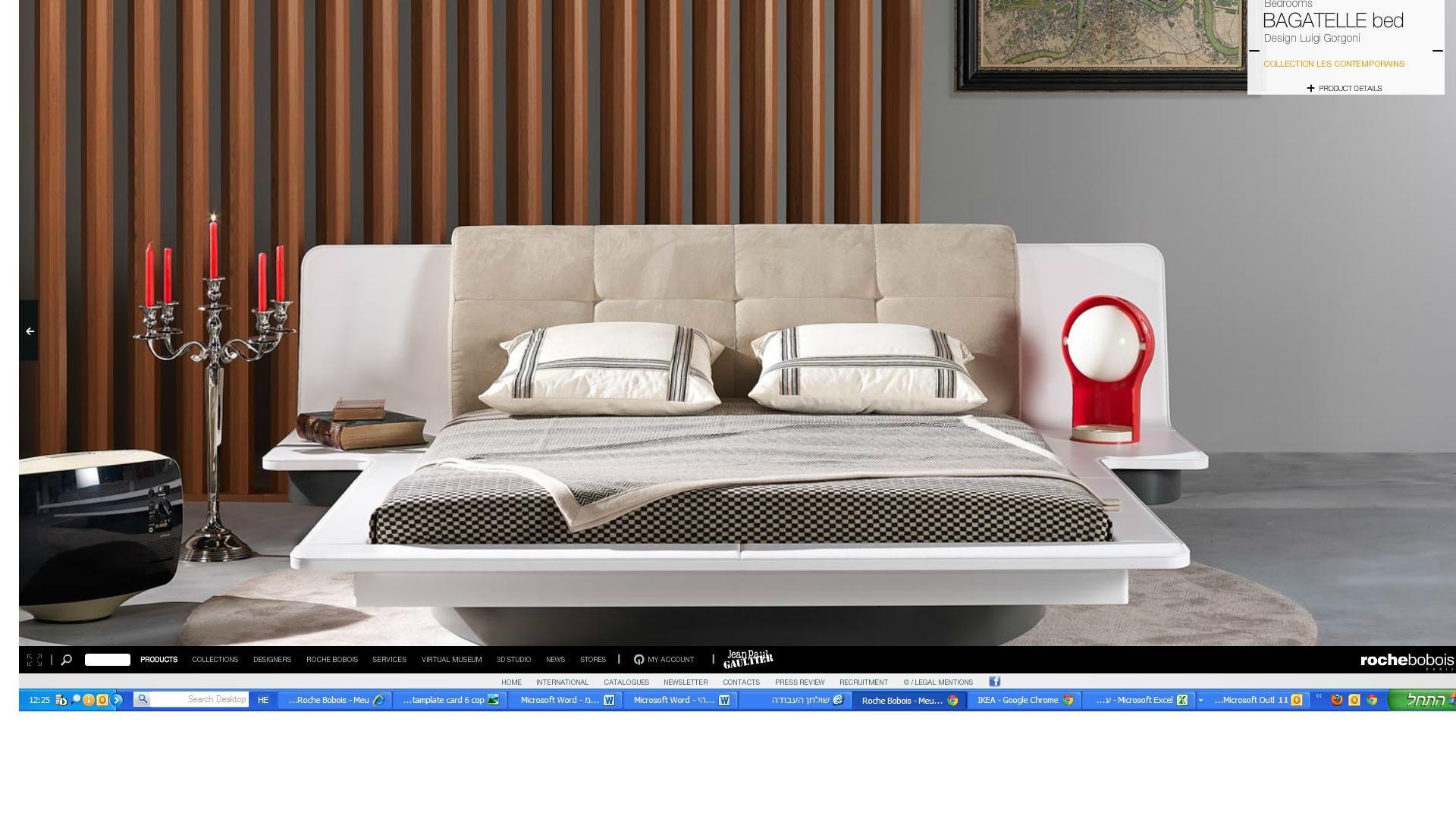 ROCHE BOBOIS cama asi pero sin cabecero | Ideas casa | Pinterest ...