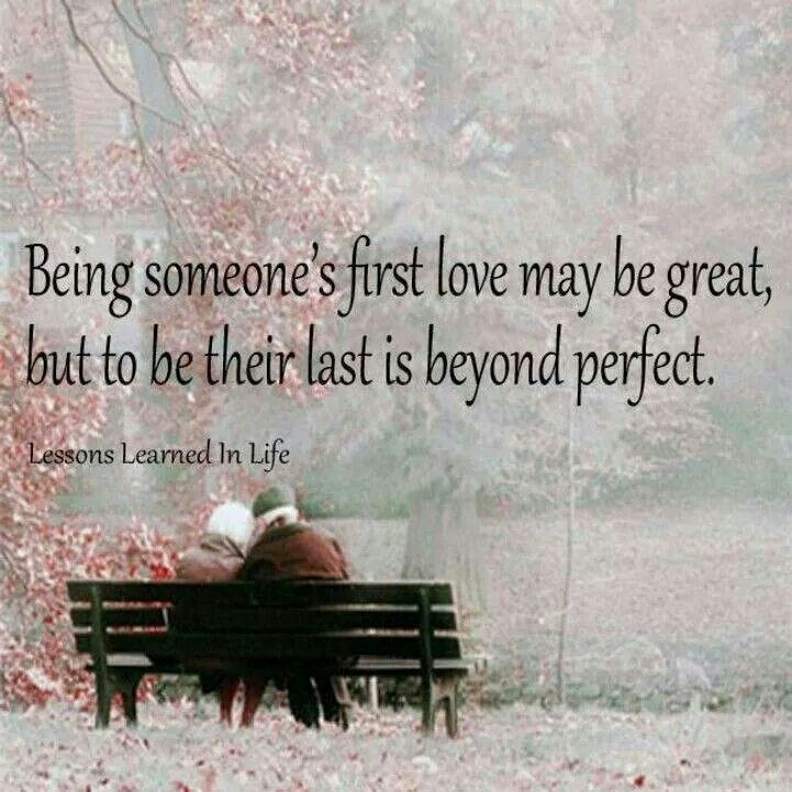 Aww...the last..beats any first when it comes to love♡♡