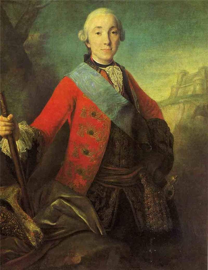 РОКОТОВ ФЕДОР СТЕПАНОВИЧ (1735—1808) «Портрет Петра Фёдоровича, в будущем Петра III» 1763г