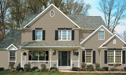 Brownstone Vinyl Siding Homeowner Architect Builder