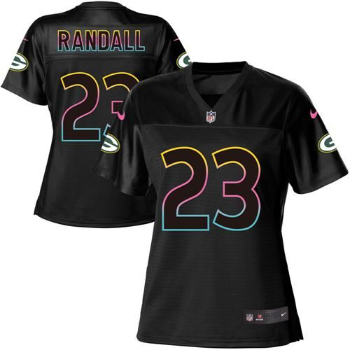 64572bca657 ... switzerland nike packers 23 damarious randall black womens nfl fashion  game jersey 08495 dc8fe italy mens philadelphia eagles ...