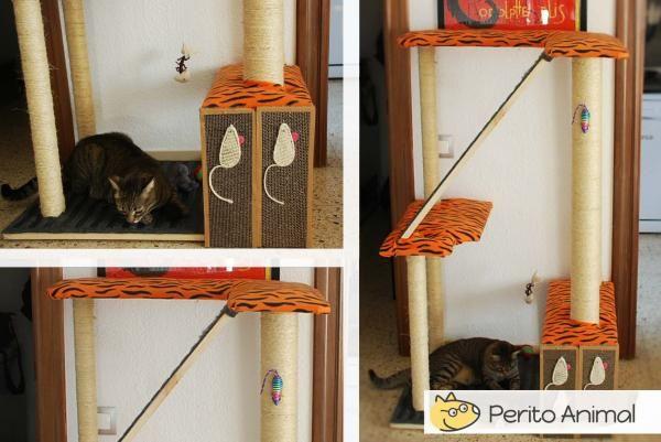 Arranhador caseiro para gatos gatos arranhador gatos for Tiragraffi gatti ikea