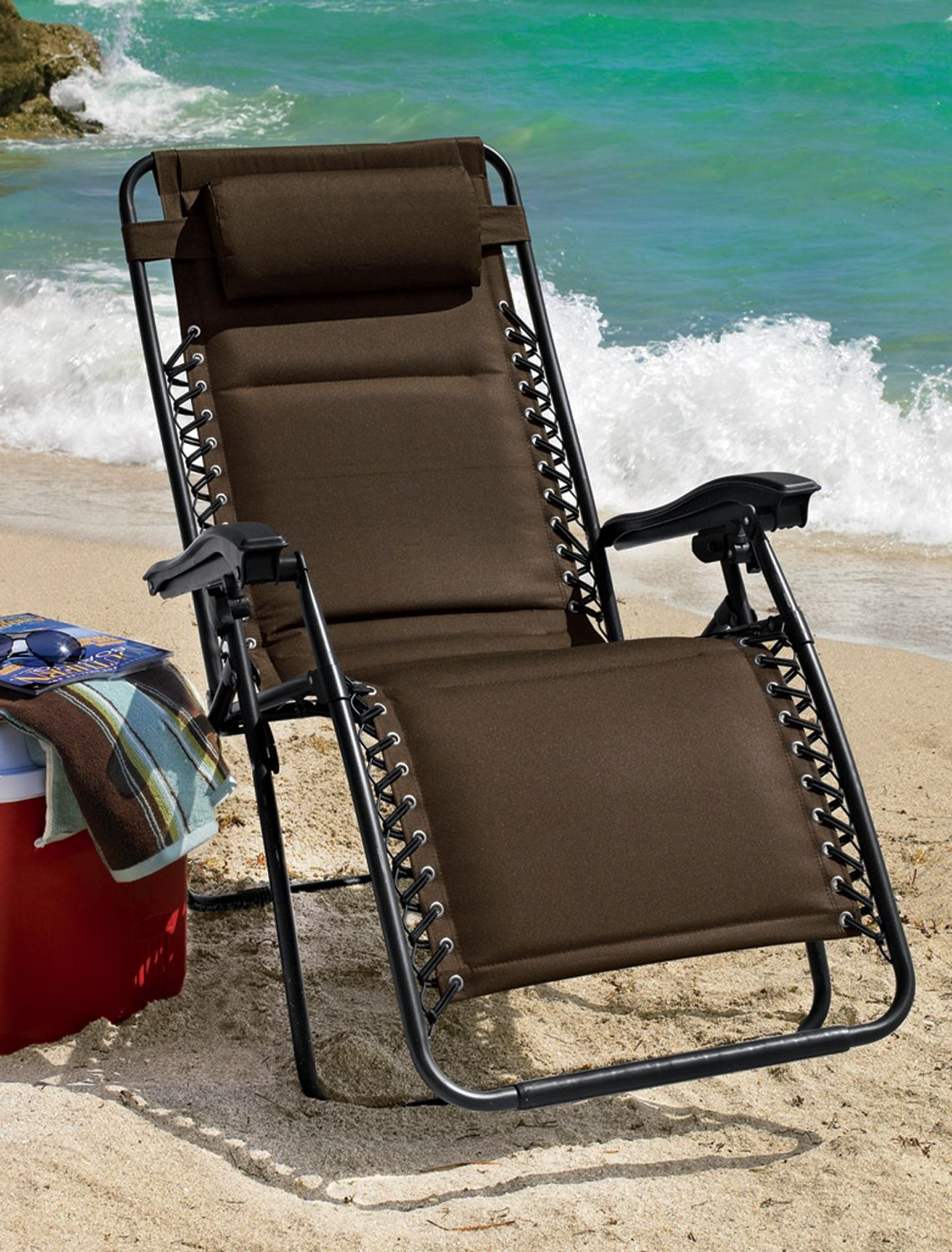 XL Padded Zero Gravity Chair | Extra Wide Portable Chairs ...