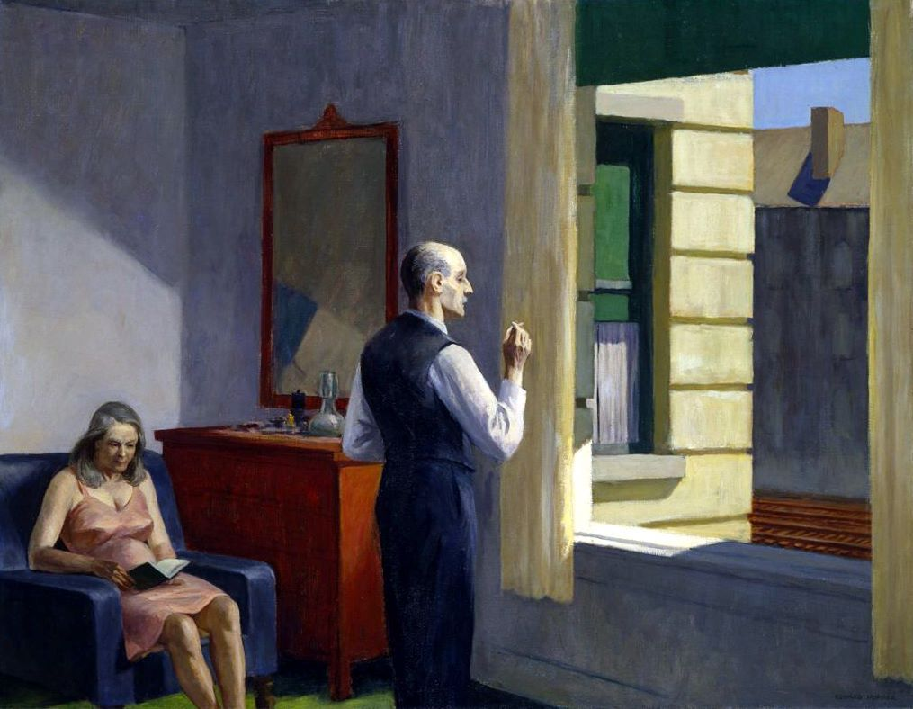 Automat Edward Hopper | Edward hopper paintings, Edward