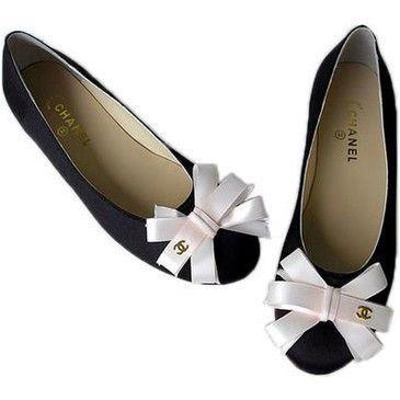 Chanel ballet flats.