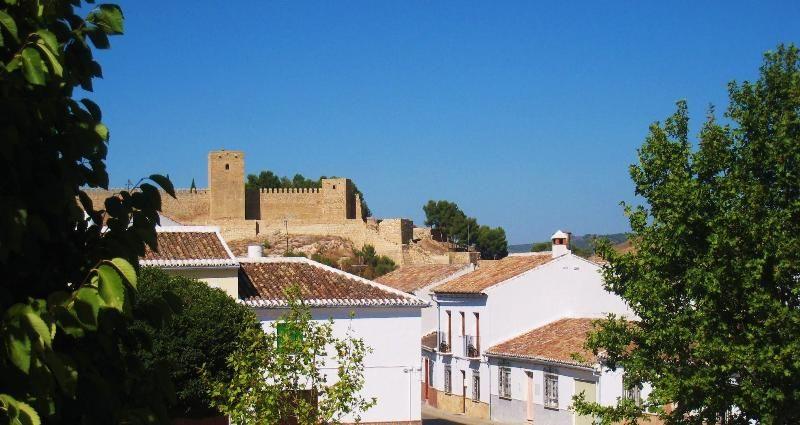 Casa Antequera with 'La Alcazaba' behind