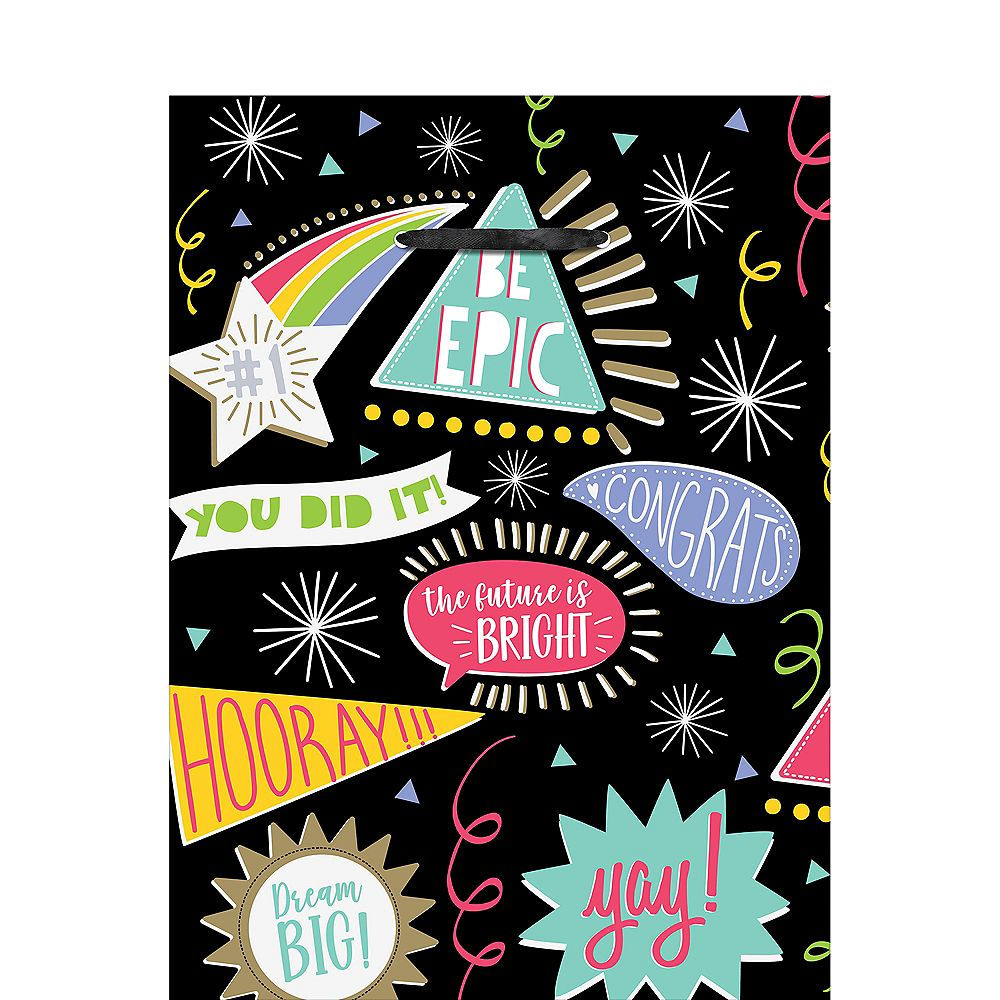 Be epic graduation gift bag 10 12in x 13in party city