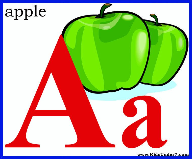 free printable alphabet letters flash cards | Kids Under 7