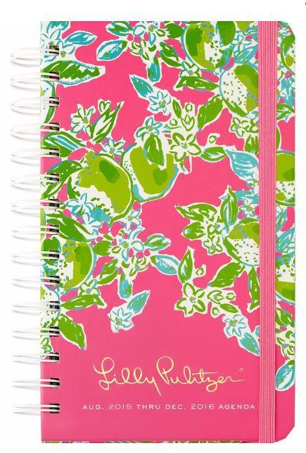 2b6e2e30a952a0 Medium Agenda - Pink Lemonade | <<Lilly Pulitzer>> | Lilly pulitzer ...