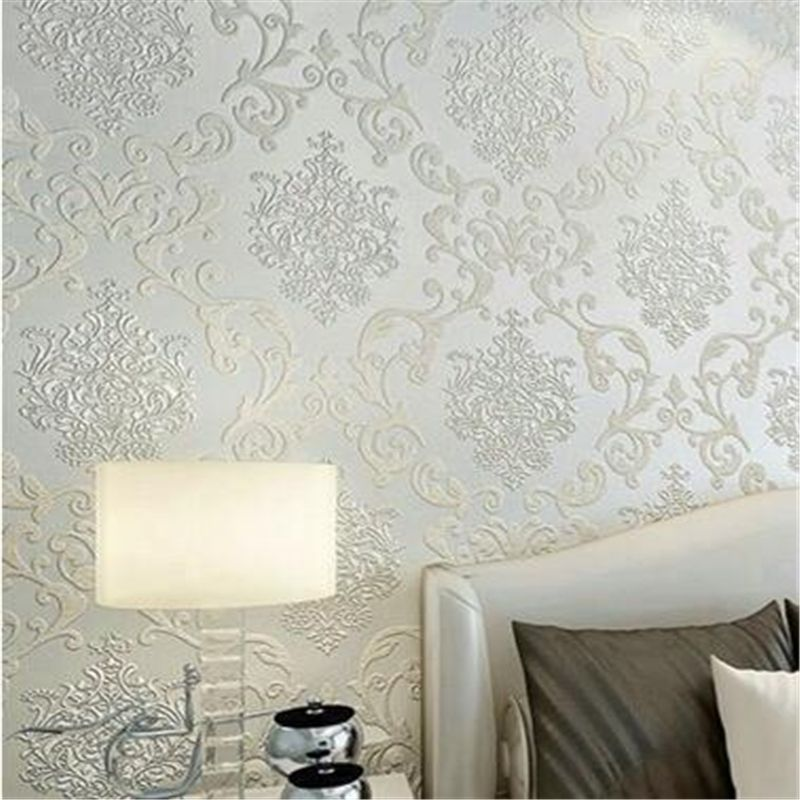 Beibehang living room bedroom wallpaper damascus style wall paper home decoration papel de parede wallpaper for walls 3 d
