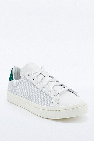 Adidas Originals Sneaker Court Vantage In Weiss Und Grun Mit Nubukleder Adidas Originals Sneaker Adidas Originals Und Urban Outfitters