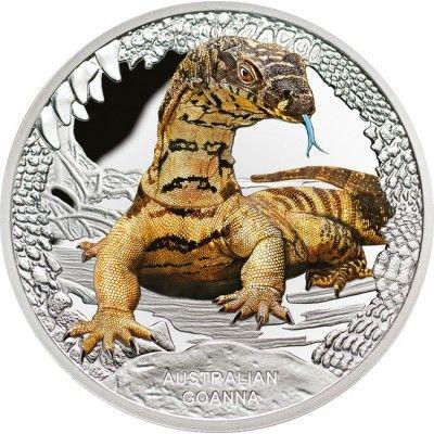 1 Dollar Silber Australischer Waran PP