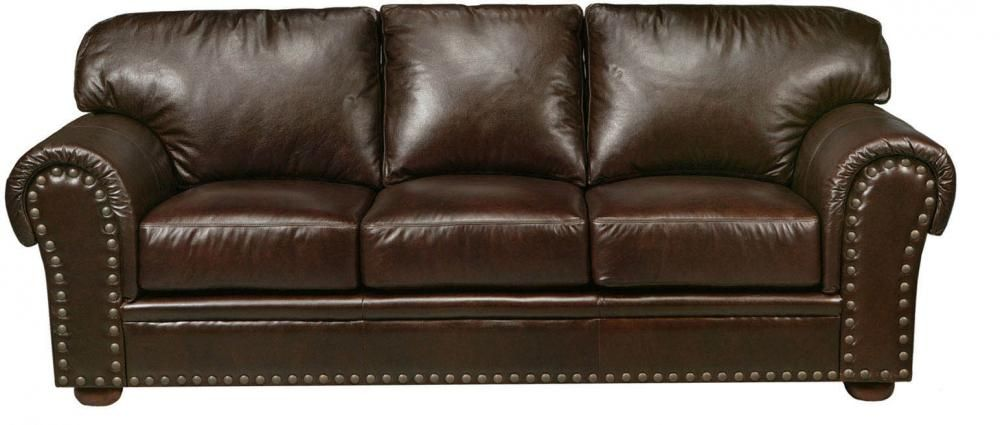 Leather Sofa Beaumont Furniture | home decorating | Leather ...