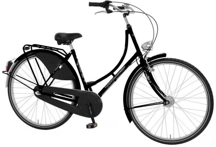 damen hollandrad 28 zoll nostalgierad cityrad hollandfahrrad fahrrad 3 gang schwarz damen. Black Bedroom Furniture Sets. Home Design Ideas