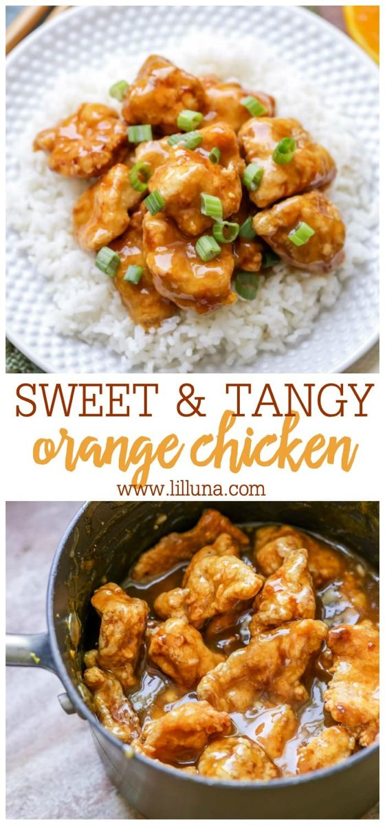 Orange Chicken #chineseorangechicken