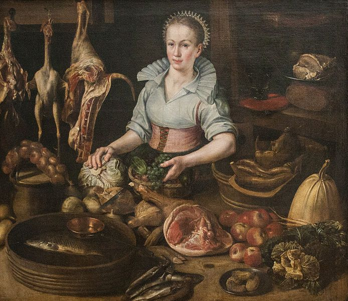 The Kitchen Maid Lucas Van Valckenborch Ca 1585 1595 Dutch