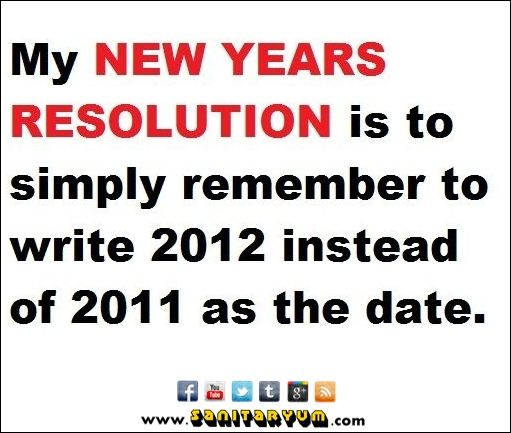 New Year\'s Resolution Quotes | ... Clean Humor - funny new years ...