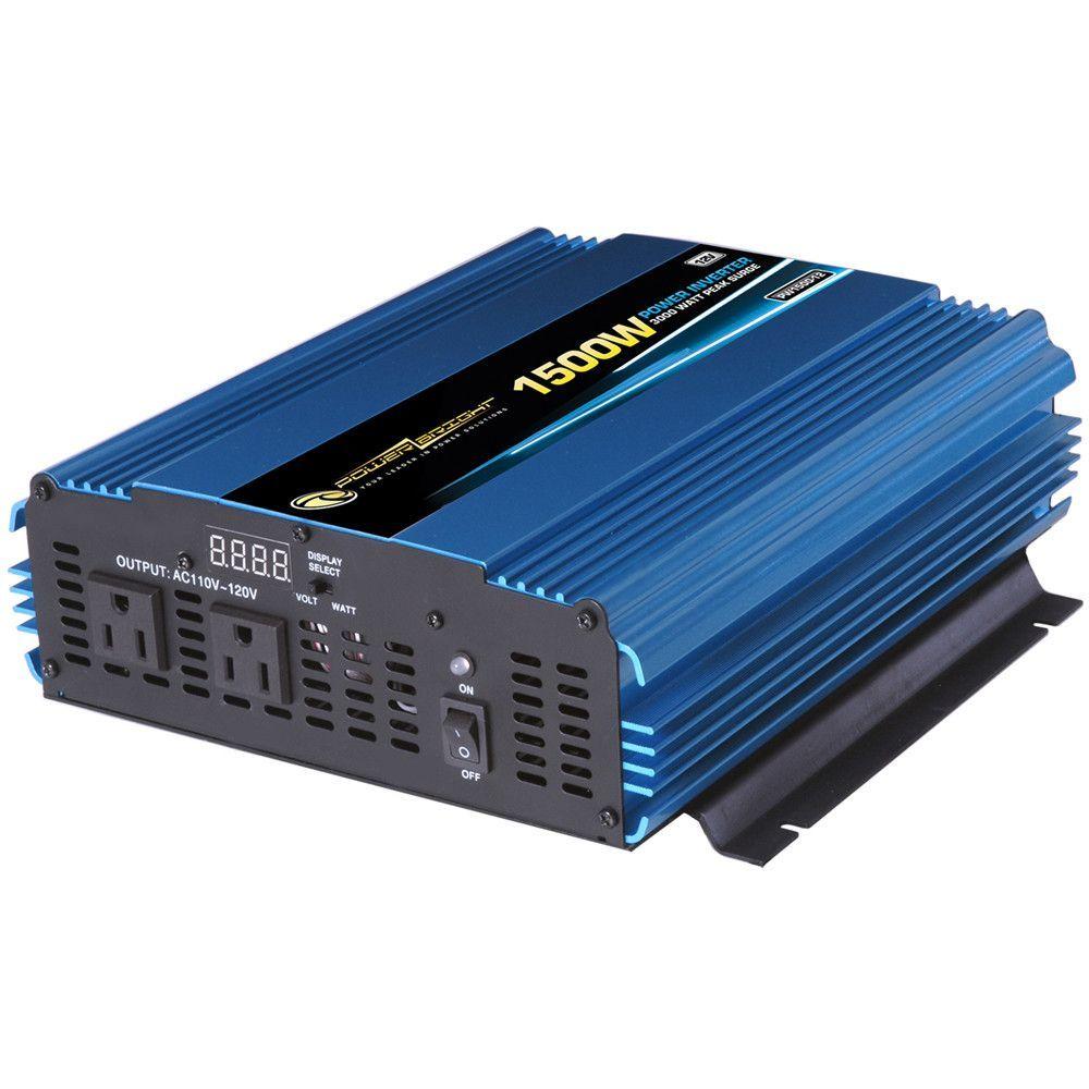 medium resolution of 12v dc to 110v ac 1500w power inverter