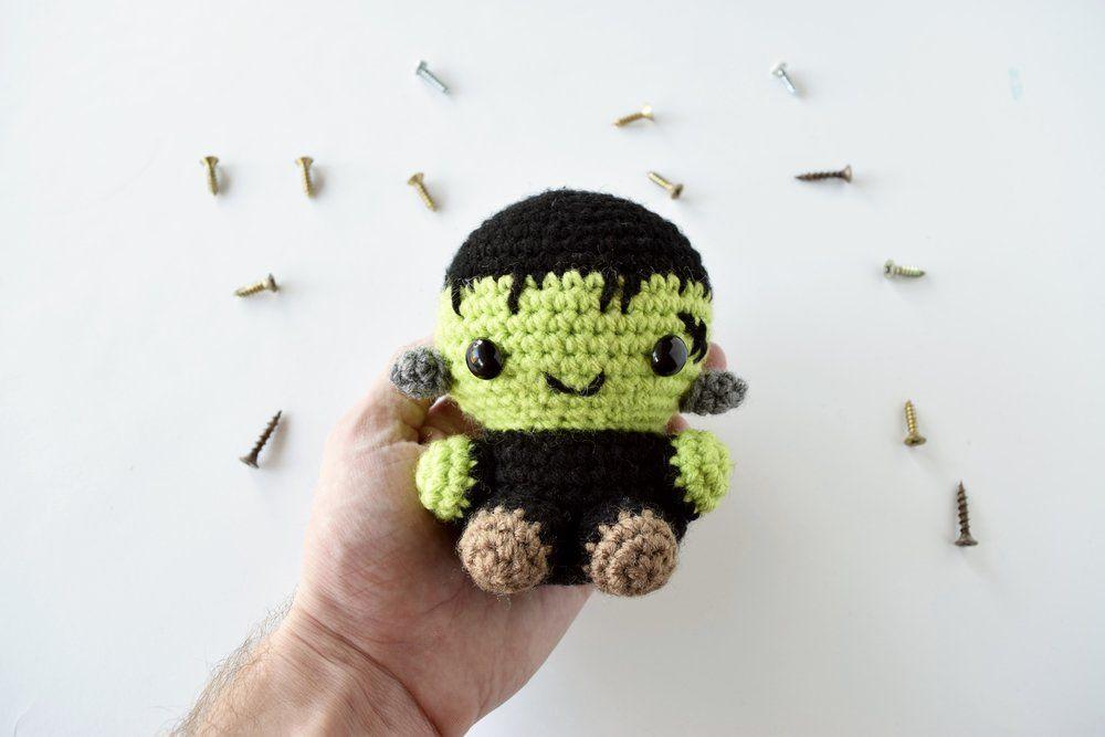 Frankenstein Crochet Pattern | Pinterest | Bonitas y Decoración